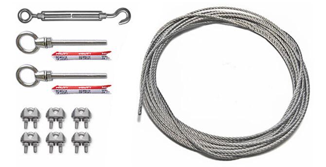 exterior wiring trough kits