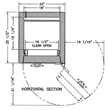 Custom TL-30 w/o Label with deposit opening CS-M341816B-L30