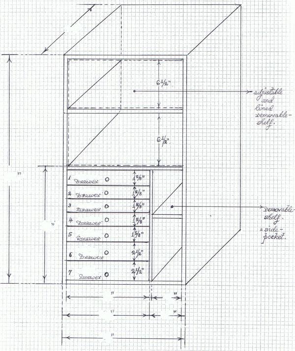 Custom Safe Interior #05