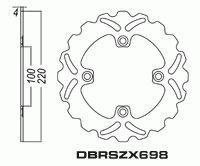 Rear Brake Disc Kawasaki ER-6F ER6F ER6 2006-2012 06-12