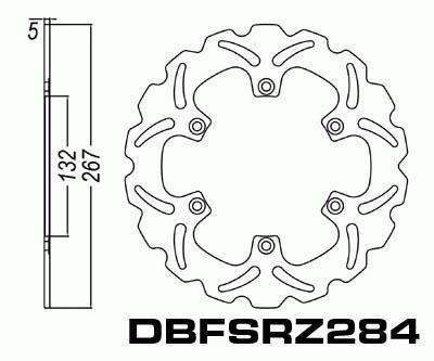 Brake Disc Yamaha RZ250 RD350 RD500 XJ600 FZX700 FZ750