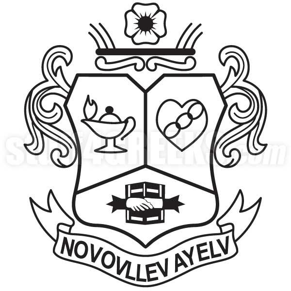 Alpha Kappa Phi Angonian Society Crest Icon