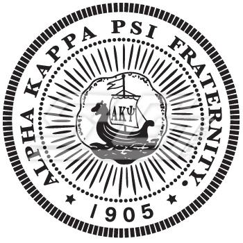 Alpha Kappa Psi Seal Patch