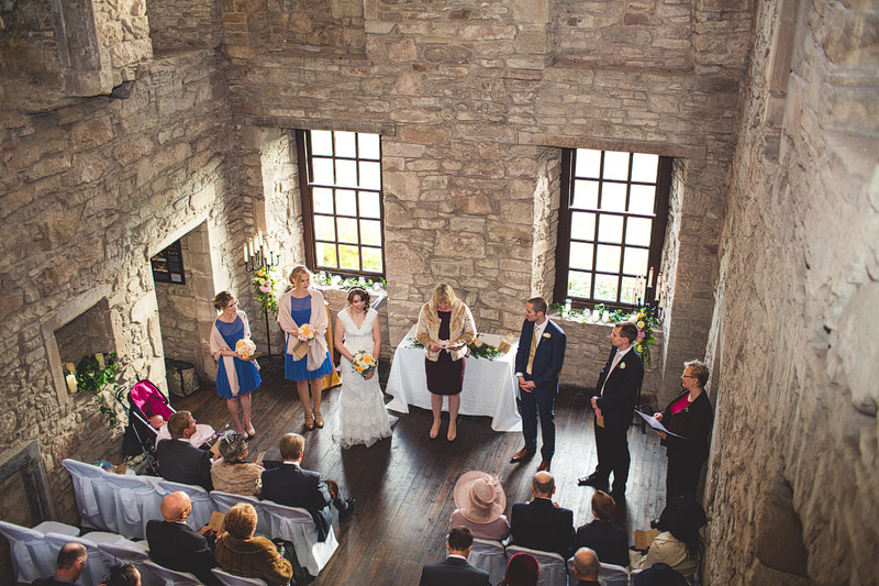 Huntingtower Castle Wedding In Scotland