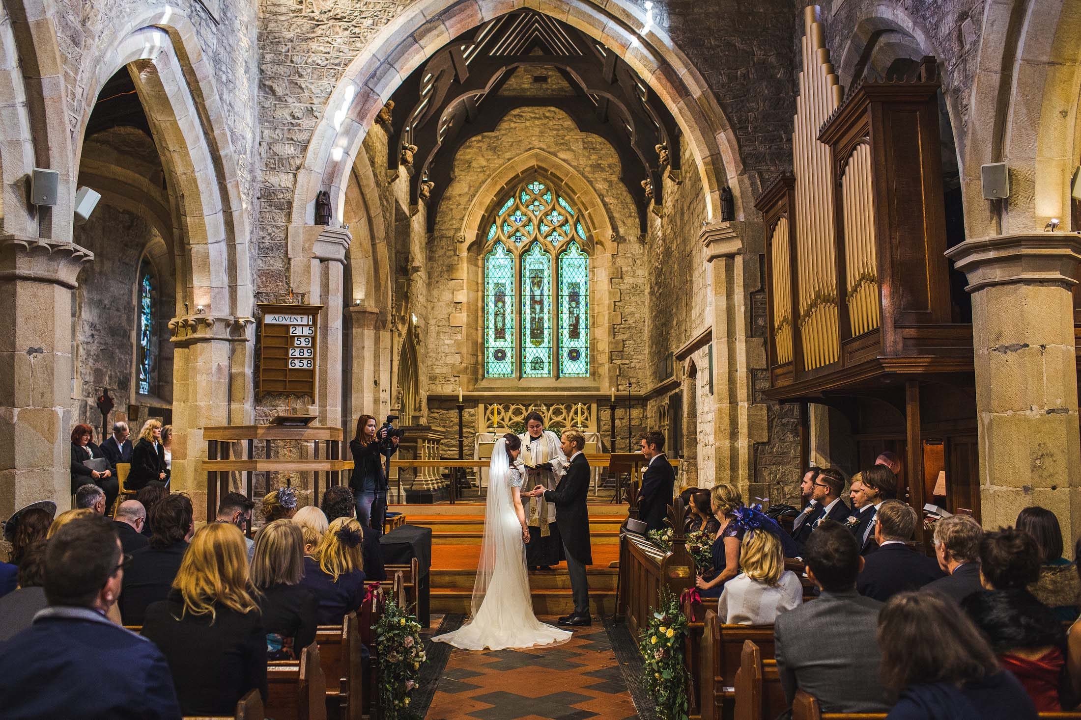 Hathersage wedding