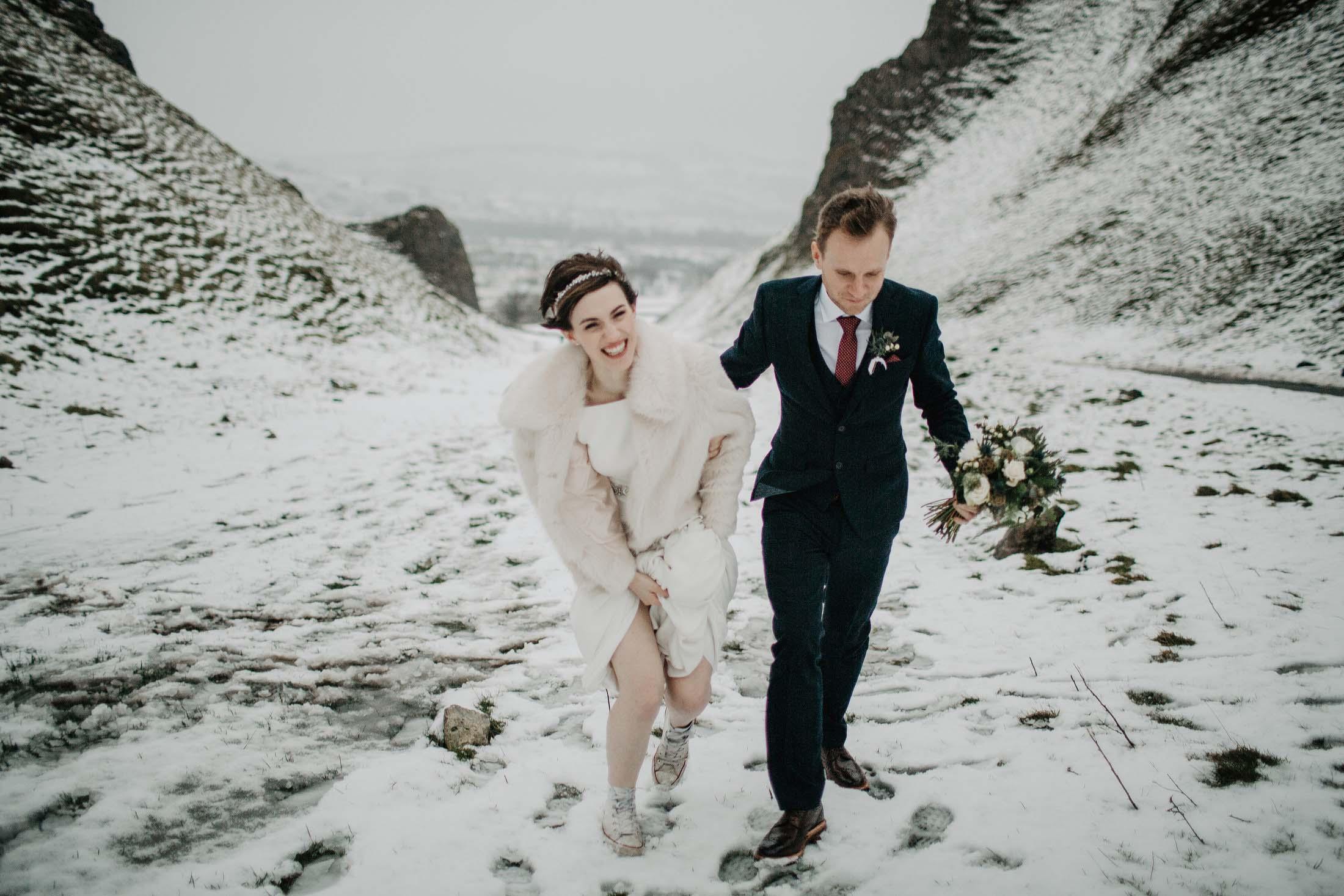 Losehill winter wedding