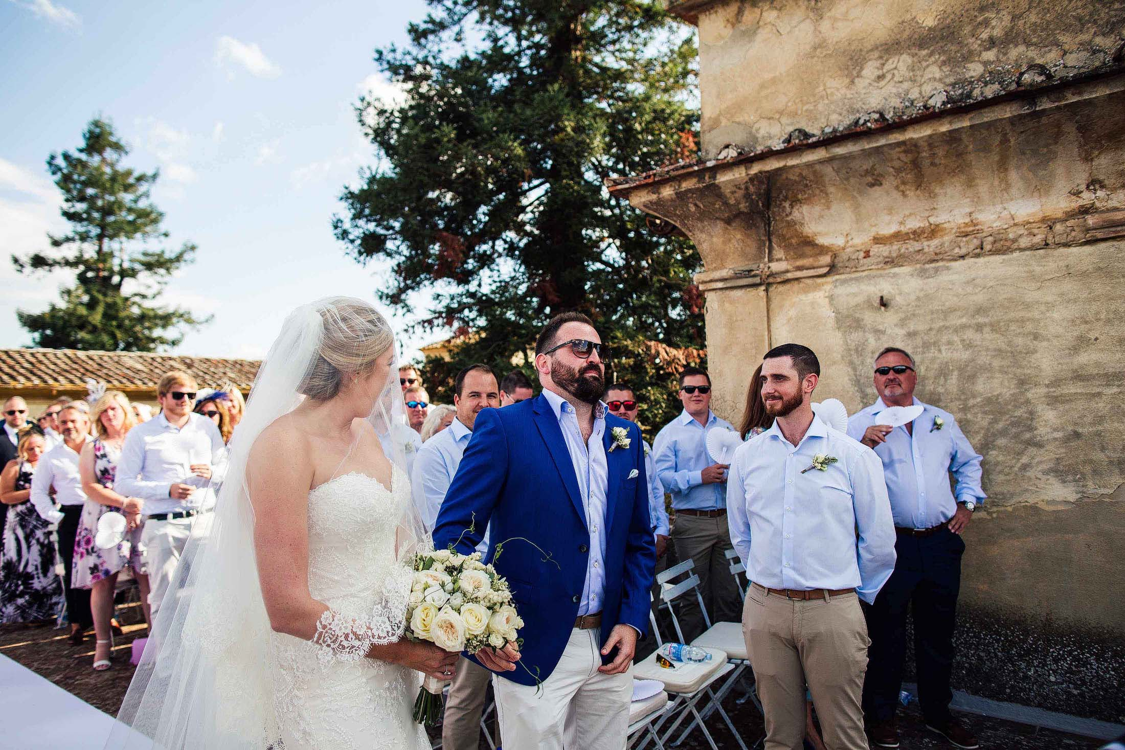 Villa Medicea di Lilliano wedding