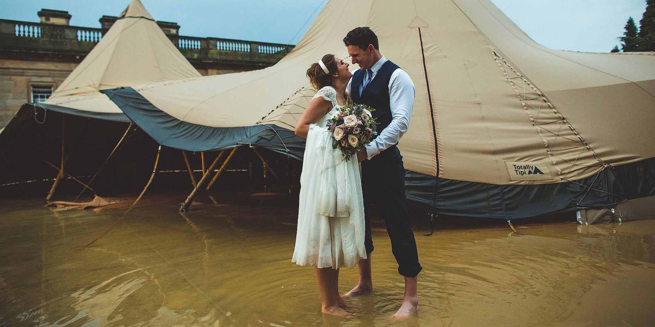 bad weather weddings
