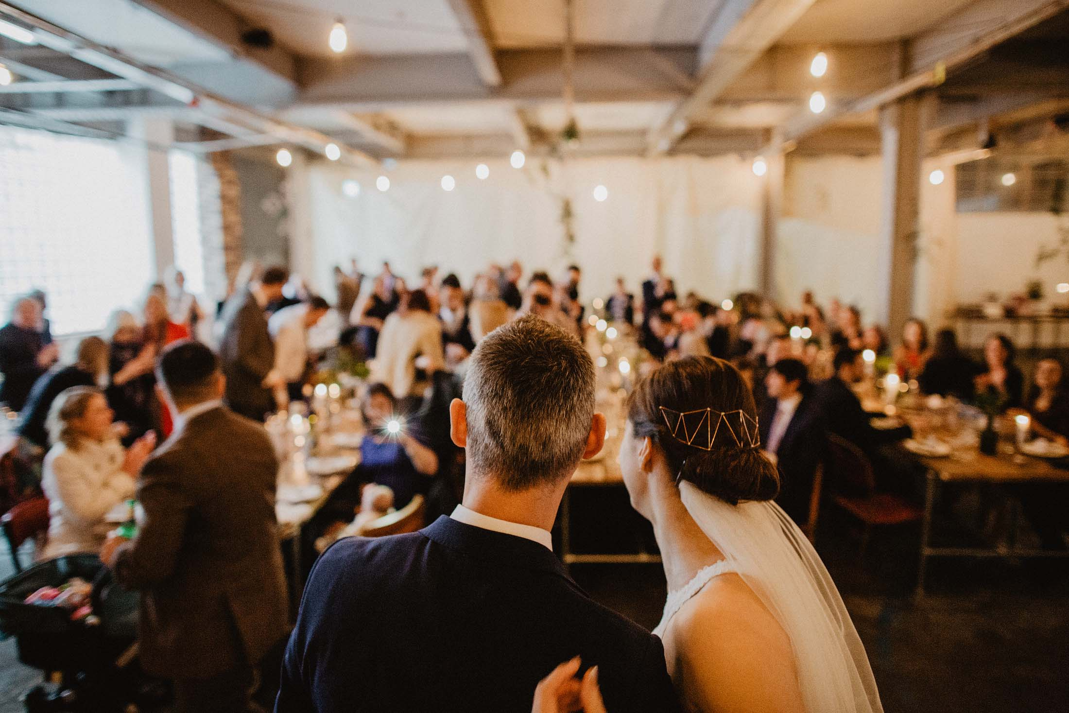 trafalgar warehouse wedding