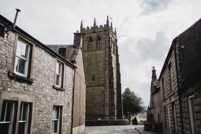 Derbyshire church wedding