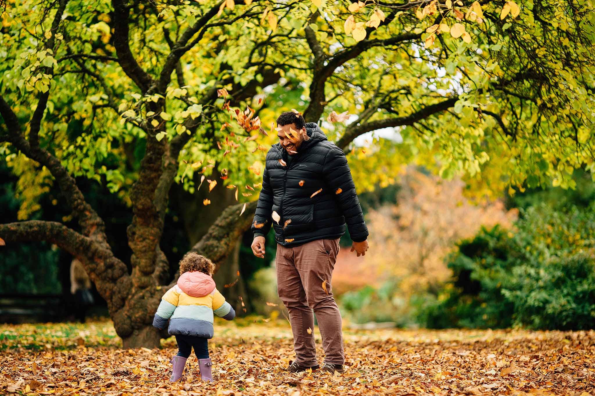 Autumn photography family