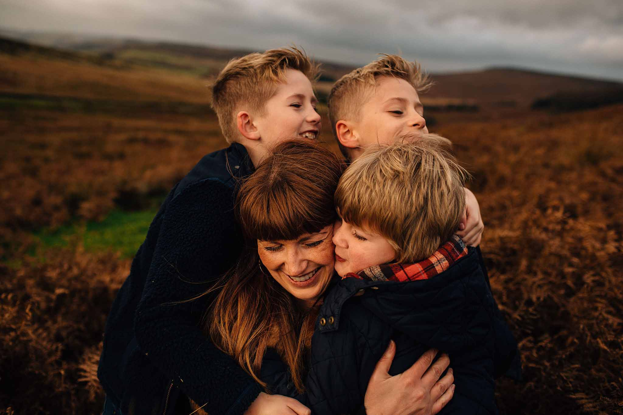 peak district family photography