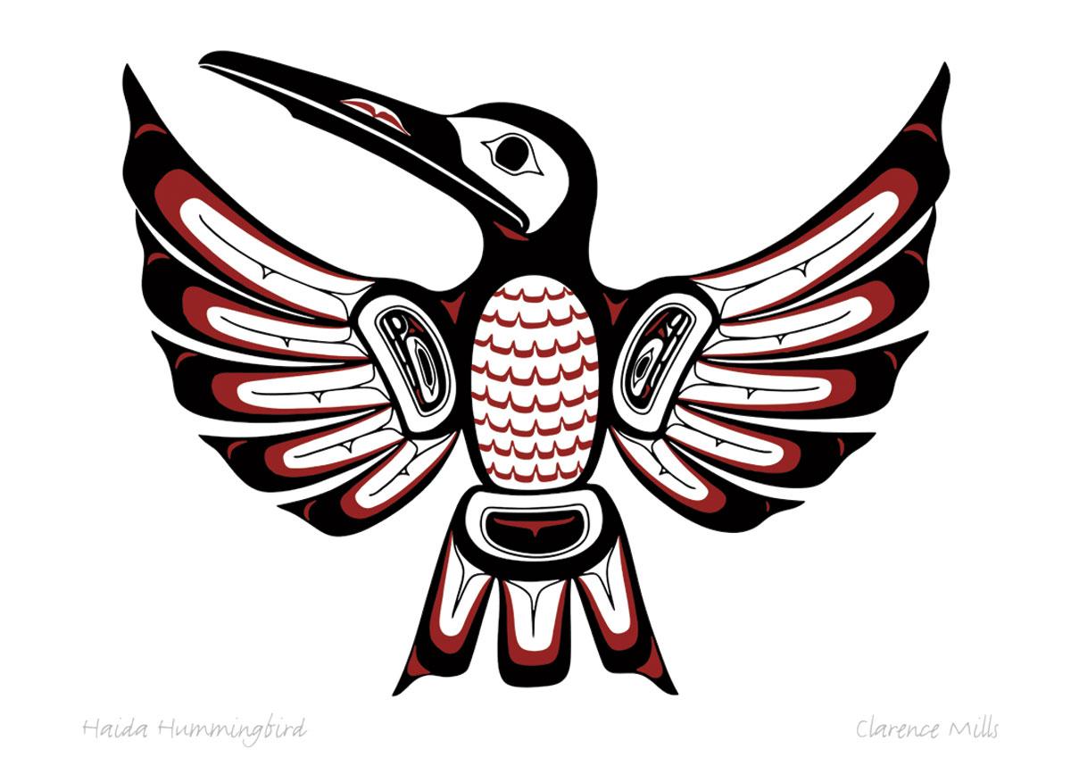 Haida Hummingbird Pod783