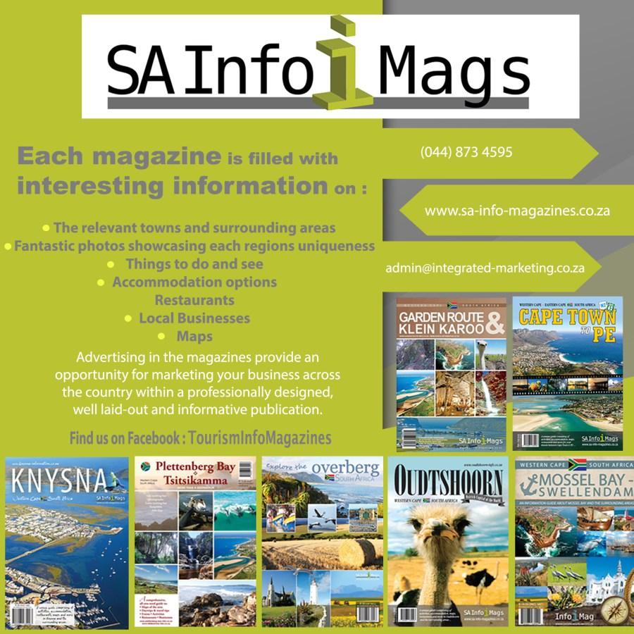 SA Info Magazines Contact us www.sa-info-magazines.co.za
