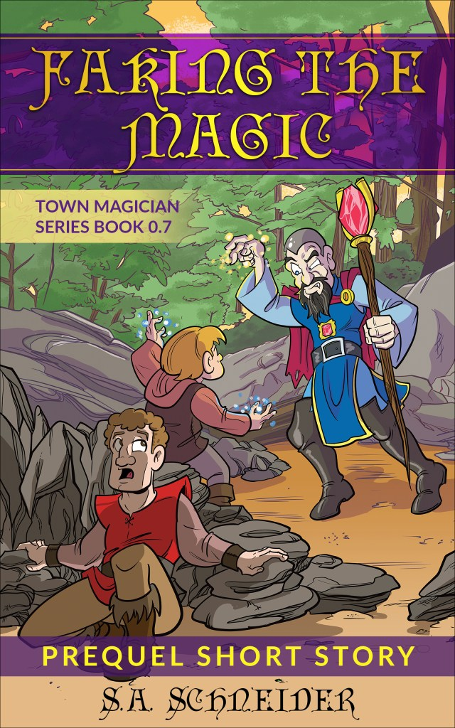Town Magician Short story cover