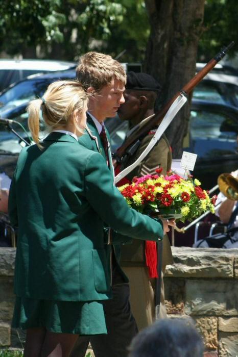 Remembrance Day  Aloe White Ensign Shellhole Walmer