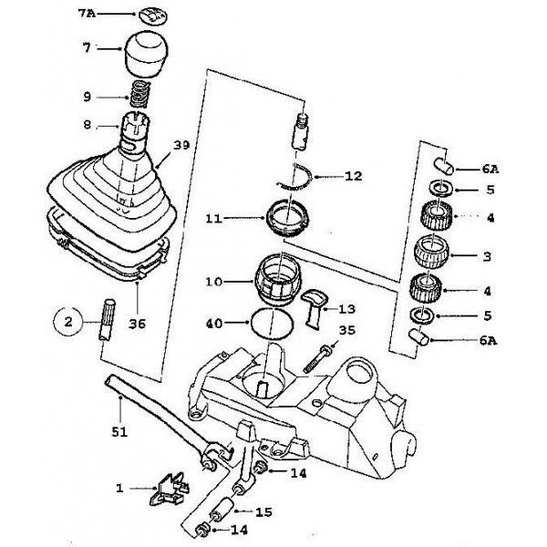gear shift mechanics: 900 Typ 2gearbox/transmissionmanual