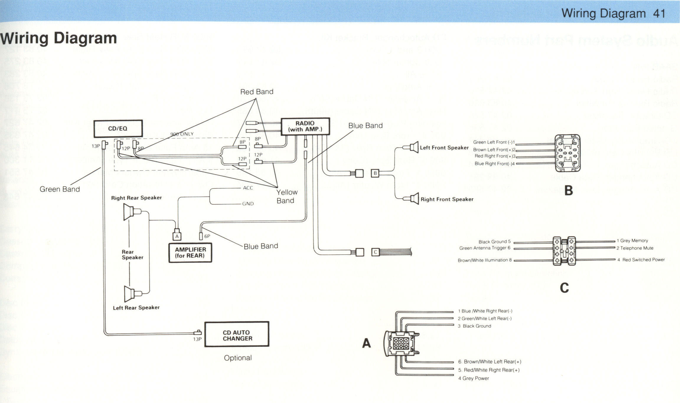 saabclarion_schematics_92 94 clarion cx609 wiring diagram kenwood car cd player wiring \u2022 wiring thermon tc101a wiring diagram at panicattacktreatment.co