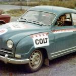 The car in mid 1970's.
