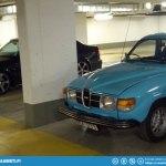 Secrets of the Radisson parking carage...