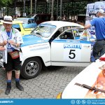Simo Lampinen's Finnish Championship car of 1975. Original restored car - Not a reproduction.