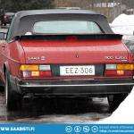 Saab 900 Cabriolet is a great winter car.