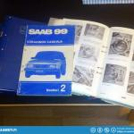 I didn't really buy anything but exchanged a set of wheels for a complete set of Saab 99 workshop manuals.
