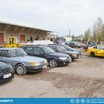 Old And Classic Saab Meet 2013.