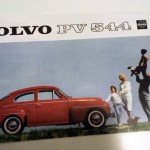 Volvo PV544 brochure. svenska. 12 sidor. Reproduktion. 5 €.