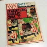 Vauhdin Maailma 8 1977. Mini kannessa ja Suurajo-opas. 3 € / tarjous.