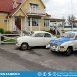 Next stop was Akersund where we visited Stig Carlsson of Peja Veterandelar (Classic car parts shop).