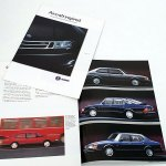 Aircraft inspired - Saab 9000CD/CS 900 (Cabriolet), 1993. A4 20 sivua. Englanninkielinen. 5 €