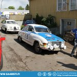 On to Vadstena to visit Mattias Rosvalls garage.