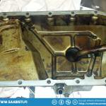 It's also a good idea to clean the oil pan and especially the oil pump coarse filter.