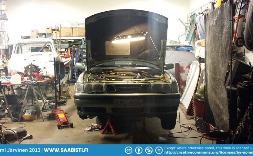 Saab 9-3 turbo 2001 – Some basic maintenance