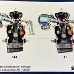 Variable Compression engine
