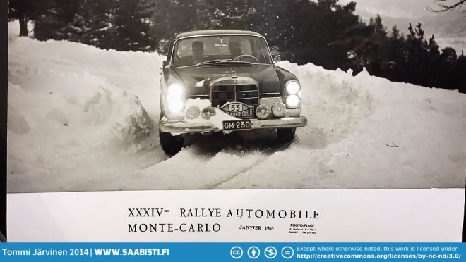 Sakari also worked as a mechanic for Onni Vilkas - a well known privateer rally driver in Finland. Sakari was part of the team on several occasions for example in the Monte-Carlo Rallye.