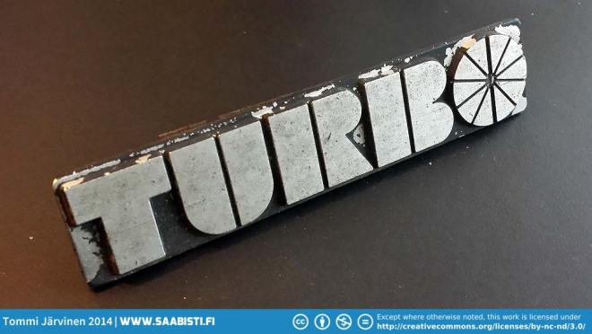 Very hard to find - Saab 99 Turbo 1978 grille emblem