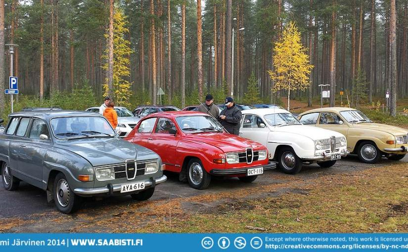 Saab Club Meeting in Northern Finland