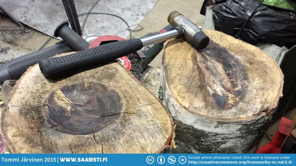 Building An English Wheel Tommi S Saab Site