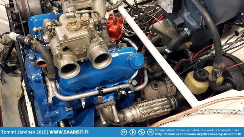 Saab 96 V4 Rally – Engine build moving forward