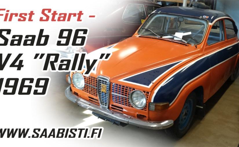 Saab 96 V4 Rally – First start!
