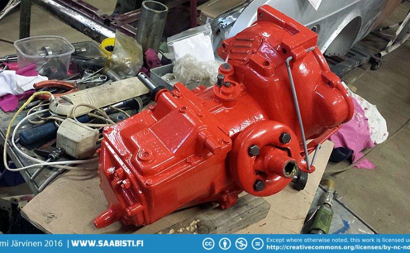 Saab Sport & two stroke gear box restoration