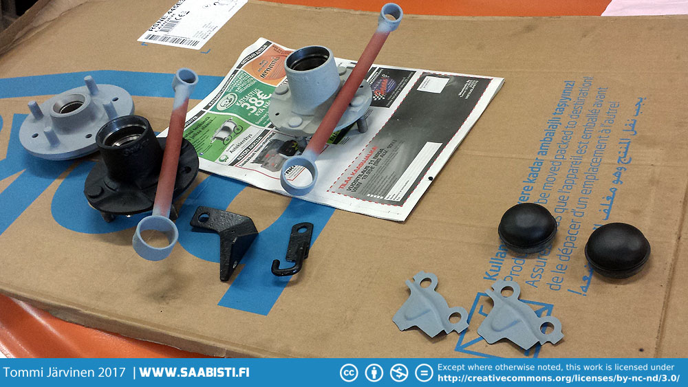 Primer on some of the rear axle components.