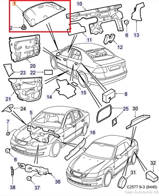 Saab 9 2x Parts Diagram Saab 900 Parts Diagram ~ Elsavadorla