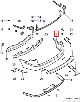 Saab 9 5 Parts Diagram Saab Cooling System Diagram Wiring