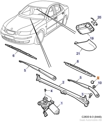 Saab 9000 P Diagram, Saab, Free Engine Image For User