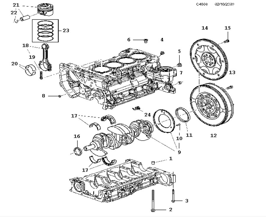 Grand Prix Engine Wiring Diagram Schemes