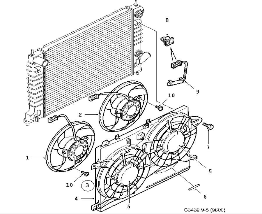 Cooling system, Fan motor