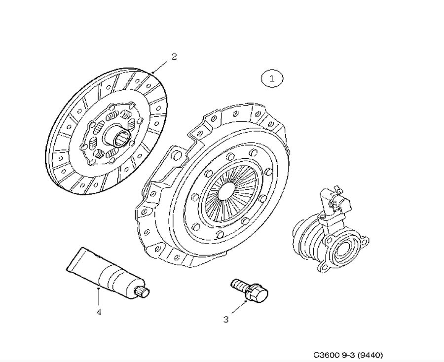 Clutch, Clutch, clutch disc 6 Cylinder Manual